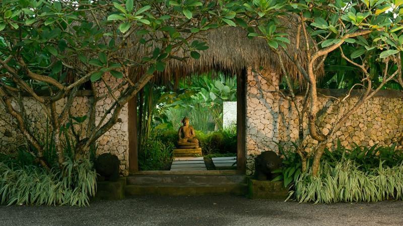 Entrance - Villa Samadhana - Sanur, Bali