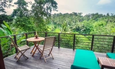 Balcony View - Villa Samaki - Ubud, Bali