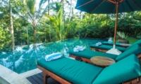 Pool Side Loungers - Villa Samaki - Ubud, Bali