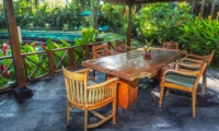 Dining Area - Villa Samaki - Ubud, Bali