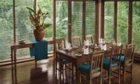 Indoor Dining Area - Villa Samaki - Ubud, Bali