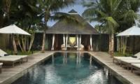 Pool Side Loungers - Villa Samuan - Seminyak, Bali