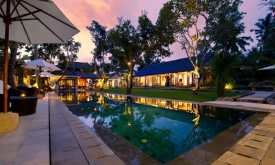 Swimming Pool at Night - Villa San - Ubud, Bali