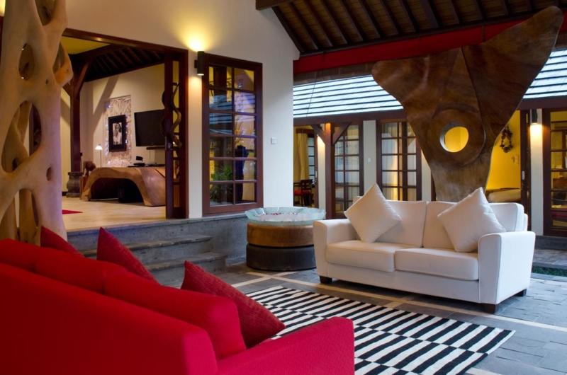 Living Area - Villa San - Ubud, Bali