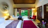 Twin Bedroom - Villa San - Ubud, Bali