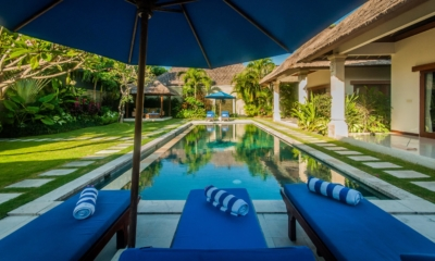 Pool Side Loungers - Villa Santai - Seminyak, Bali