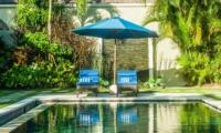Sun Beds - Villa Santai - Seminyak, Bali