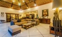 Indoor Living Area - Villa Santai - Seminyak, Bali