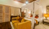 Bedroom with Sofa - Villa Santai - Seminyak, Bali