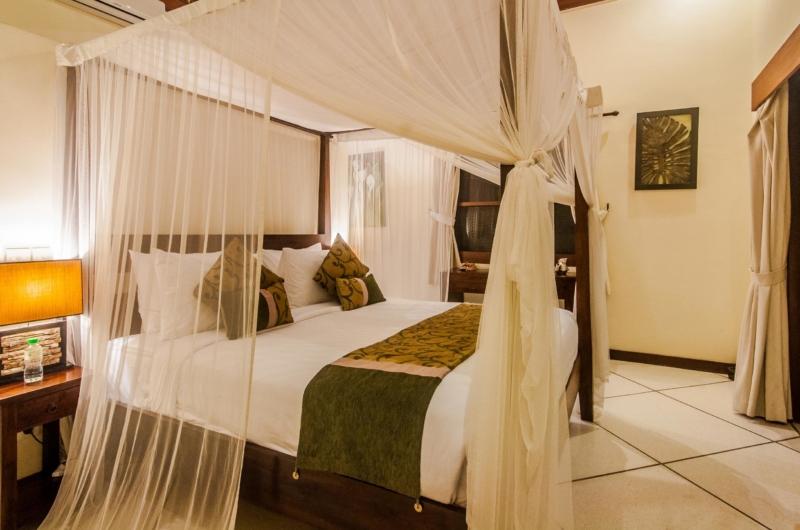 Bedroom with Side Table - Villa Santai - Seminyak, Bali