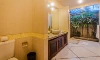 Bathroom with Shower - Villa Santai - Seminyak, Bali