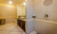 Bathroom with Shower and Mirror - Villa Santai - Seminyak, Bali