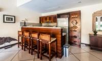 Kitchen and Dining Area - Villa Santai - Seminyak, Bali