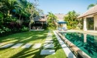 Pool Side Seating Area - Villa Santai - Seminyak, Bali