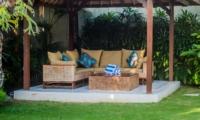 Outdoor Seating Area - Villa Santai - Seminyak, Bali
