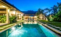 Swimming Pool at Night - Villa Santai - Seminyak, Bali