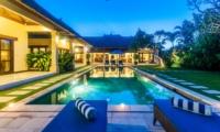 Pool at Night - Villa Santai - Seminyak, Bali