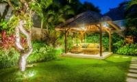 Pool Bale at Night - Villa Santai - Seminyak, Bali