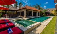 Pool Side Loungers - Villa Santi - Seminyak, Bali
