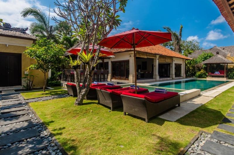 Gardens and Pool - Villa Santi - Seminyak, Bali
