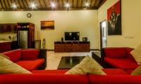 Living Area with TV - Villa Santi - Seminyak, Bali