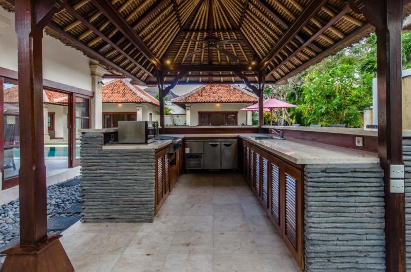Open Plan Kitchen Area - Villa Santi - Seminyak, Bali