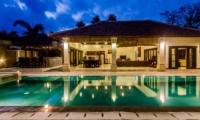 Pool at Night - Villa Santi - Seminyak, Bali