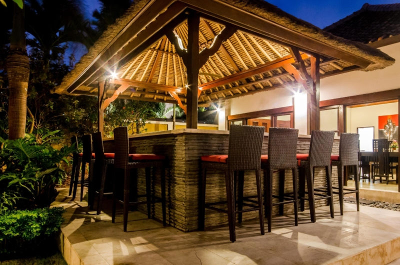Outdoor Seating Area - Villa Santi - Seminyak, Bali