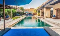 Pool Side Seating Area - Villa Saphir - Seminyak, Bali