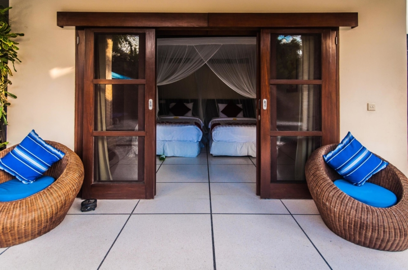 Bedroom View - Villa Saphir - Seminyak, Bali