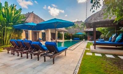 Pool Side Loungers - Villa Saphir - Seminyak, Bali