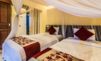 Twin Bedroom - Villa Saphir - Seminyak, Bali