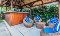 Outdoor Seating Area - Villa Saphir - Seminyak, Bali