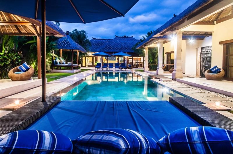 Sun Beds - Villa Saphir - Seminyak, Bali