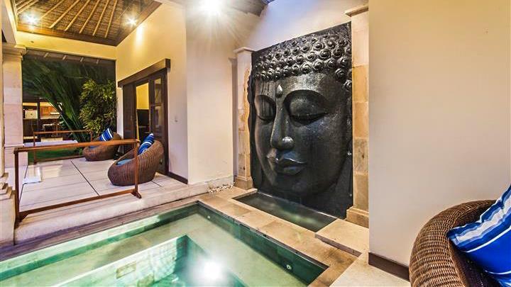 Jacuzzi - Villa Saphir - Seminyak, Bali