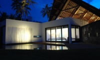 Outdoor Area at Night - Villa Sapi - Lombok, Indonesia