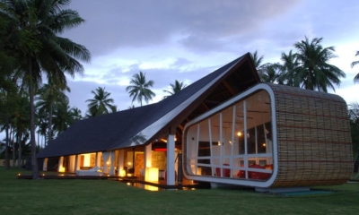 Exterior at Night - Villa Sapi - Lombok, Indonesia
