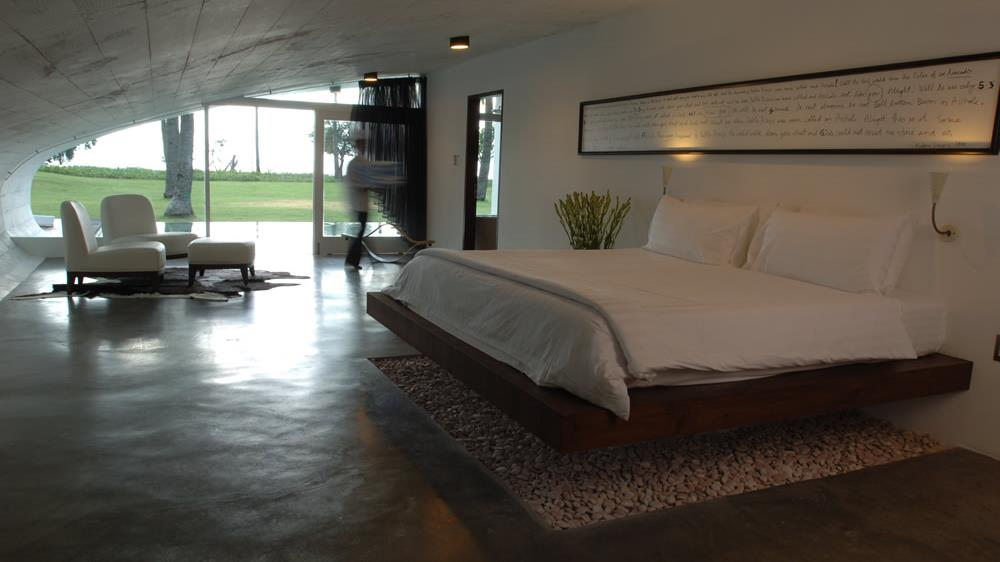 Bedroom with Garden View - Villa Sapi - Lombok, Indonesia
