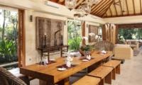 Dining Area - Villa Sarasvati - Canggu, Bali