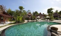 Gardens and Pool - Villa Sati - Canggu, Bali