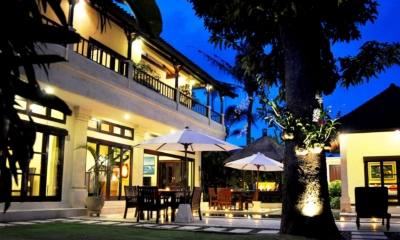 Outdoor Area at Night - Villa Sayang - Seminyak, Bali