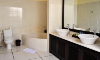 His and Hers Bathroom - Villa Sayang - Seminyak, Bali