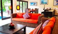 Living and Dining Area - Villa Sayang - Seminyak, Bali