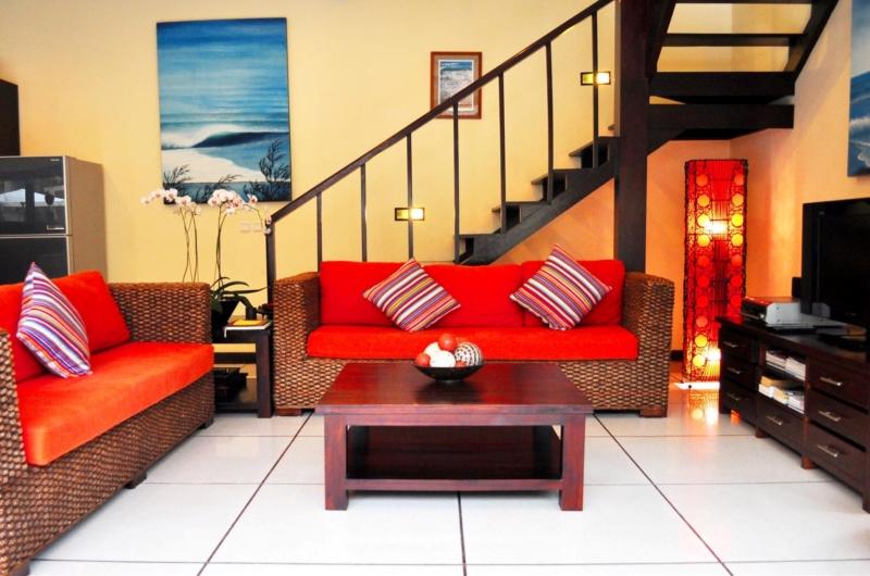 Living Area with TV - Villa Sayang - Seminyak, Bali