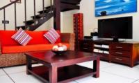 Lounge Area with TV - Villa Sayang - Seminyak, Bali