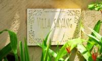 Villa Name Plate - Villa Sayang - Seminyak, Bali