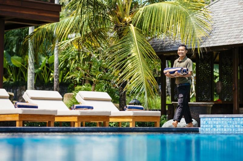 Pool Side - Villa Semarapura - Seseh, Bali
