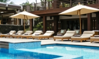 Pool Side Loungers - Villa Semarapura - Seseh, Bali