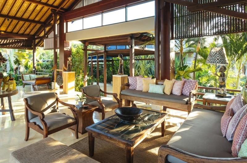 Living Area - Villa Semarapura - Seseh, Bali