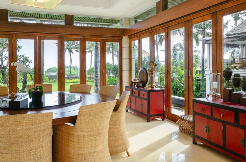 Indoor Dining Area - Villa Semarapura - Seseh, Bali